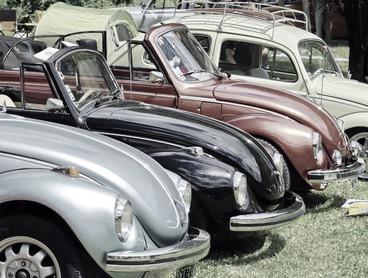 Le salon des véhicules anciens à Périgueux