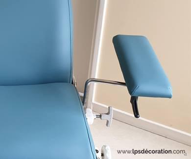 Quelles différences entre une table, un divan et un fauteuil médical ?