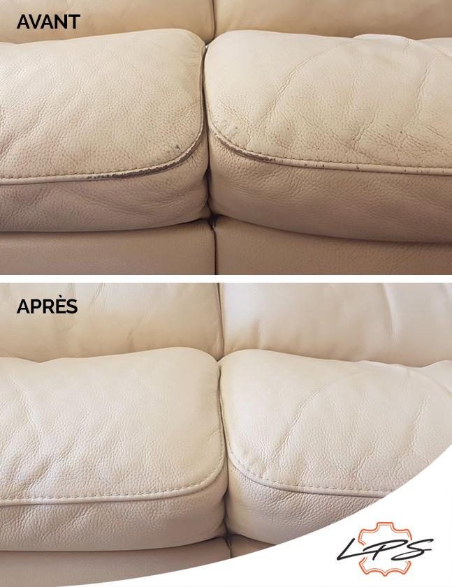 Rénovation de cuir de fauteuils et canapés