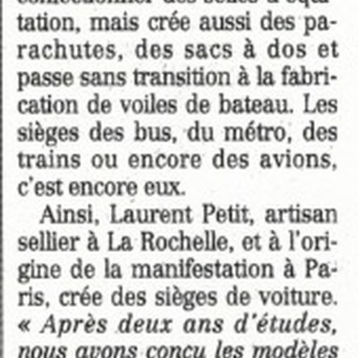 Article Figaro - 2000