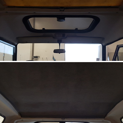 Land Rover Defender 90 - Ciel de toit