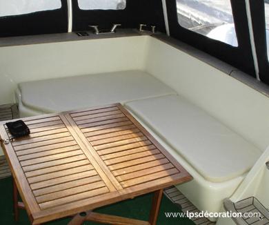 Coussins cockpit