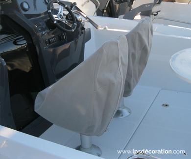 Protection sièges pilotes