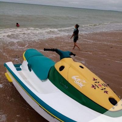 Selle scooter de mer