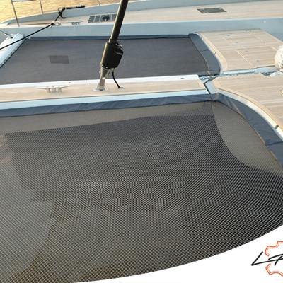 Toile cache pour trampoline